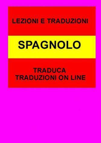 Traduzioni spagnolo