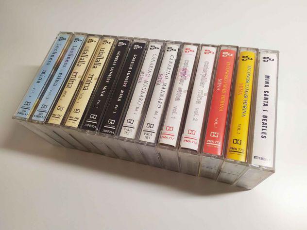 Audiocassette originali mina (7 album)