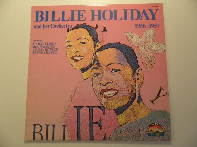 Billie holiday and her oschestra – 1956 - 1957