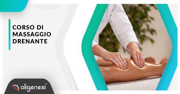 Corso di massaggio drenante a parma con oligenesi
