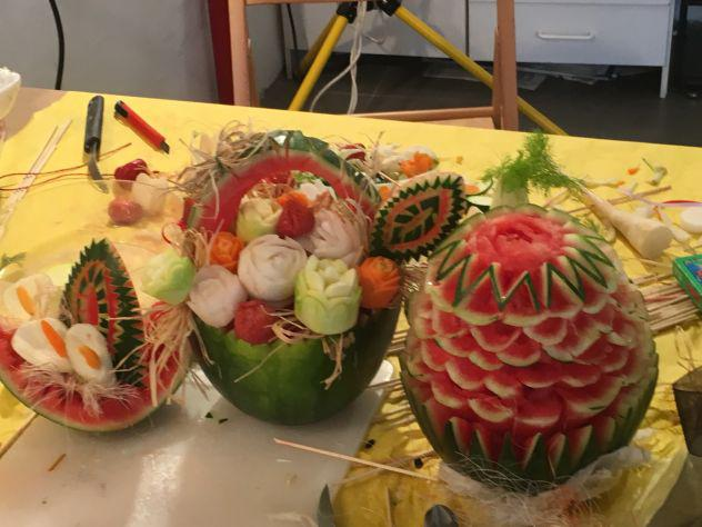 Corso intaglio frutta - verdura