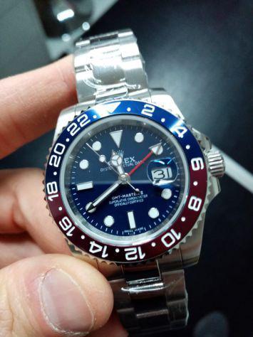 Rolex replica gmt master ii rosso blu
