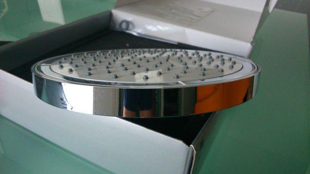 Soffione doccia a snodo nobili rubinetterie diametro 20cm