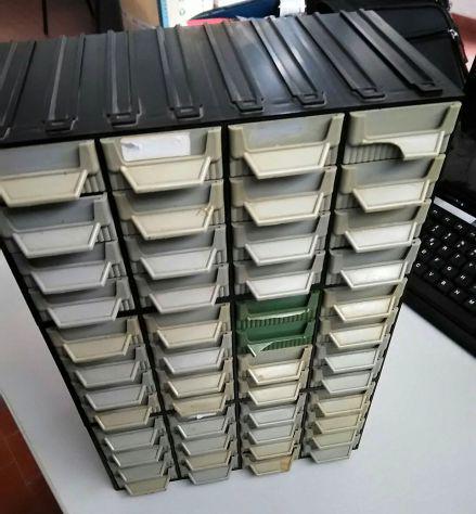 Terry plastic cassettiera portaminuteria