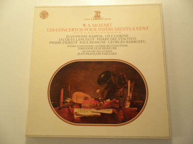 W.a. mozart – les concertos pour instruments a vent