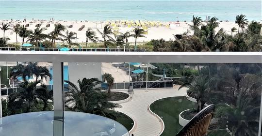 Miami beach 100 lincoln road affitto studio fronte oceano
