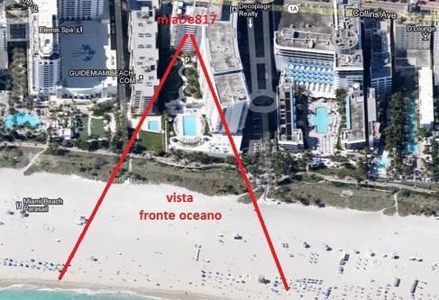 Miami beach affitto studio fronte oceano stati uniti