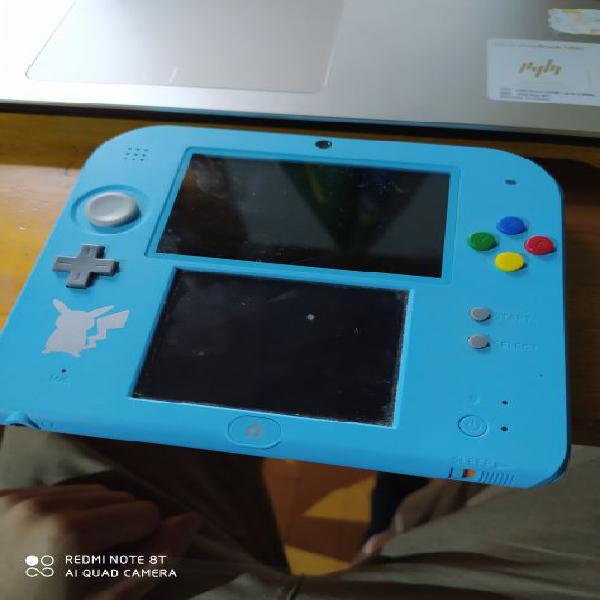 Nintendo 2ds - pokemon luna special edition