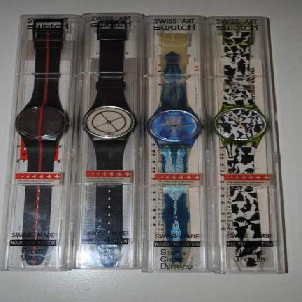 Orologi da collezione swiss art swatch