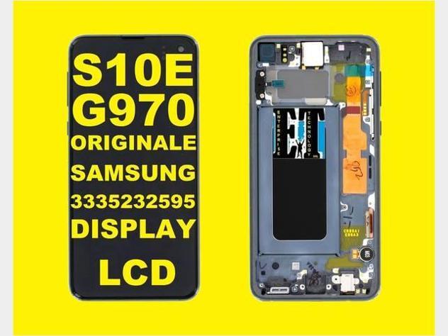 S10e samsung s10e g970 display lcd originale nuovo