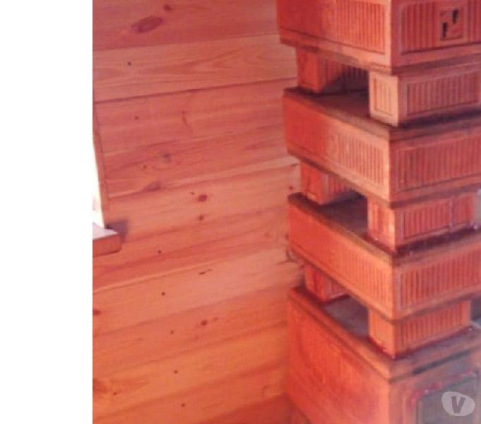 Stufa legna terracotta felici