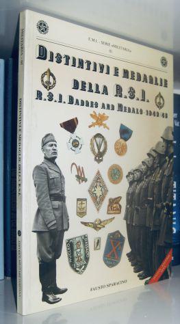 Distintivi e medaglie della r.s.i. - rsi badges and medals