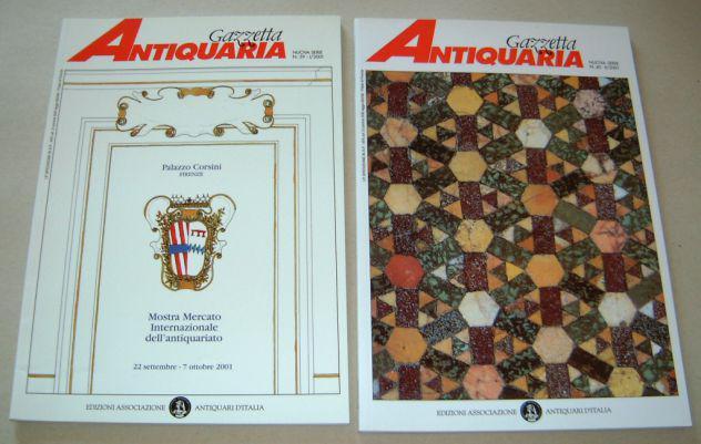 Gazzetta antiquaria - annata 2001