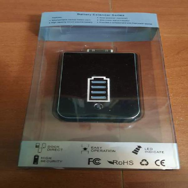 Powerbank per iphone ipad ipod ricarica solare dock 30 pin