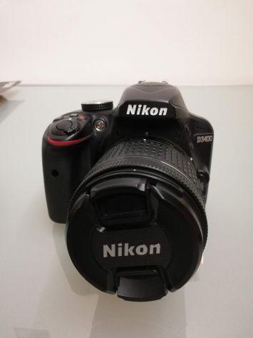 Nikon d3400 obiettivo 18-55