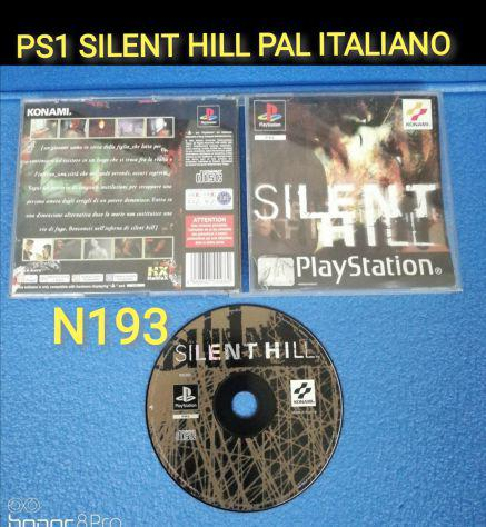 Ps1 silent hill lotto ps1 ps2 ps3 pal edizione italiana raro