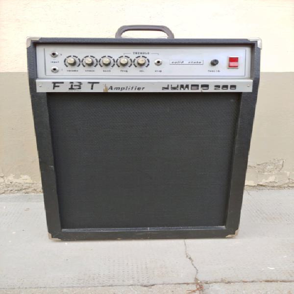 Amplificatore vintage fbt jumbo 200