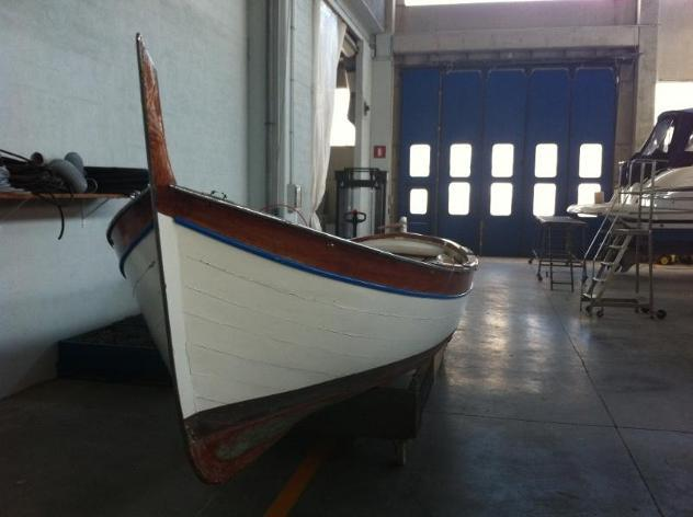 Barca a motoresciallino sciallino noberasco anno1967