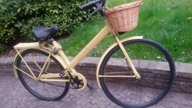 Bici bicicletta d'epoca legnano b 83 telaio forato