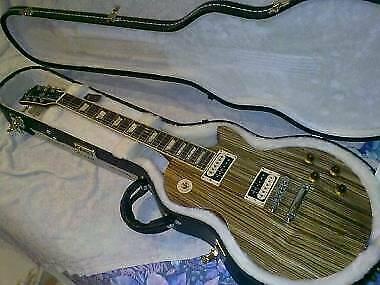 Gibson les paul classic zebrawood