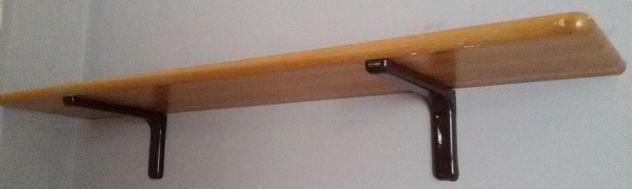 Mensole legno massello cm.120x25