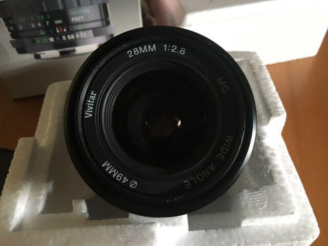 Obiettivo vivitar 28mm