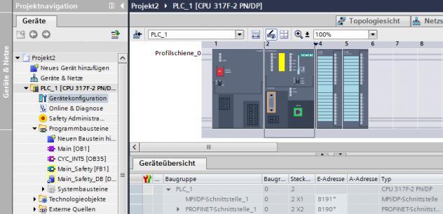 Programmazione plc siemens tia v16 e pannelli touchscreen