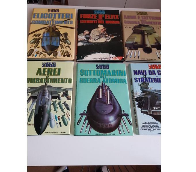 Enciclopedia le armi del 2000 – 6 volumi (peruzzo editore)