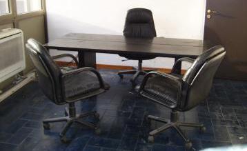 Tavolo/scrivania nero