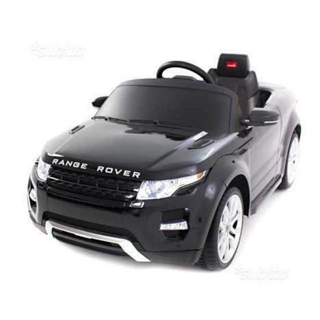 Auto macchina elettrica evoque nero