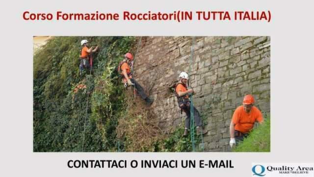 Corso formazione rocciatori(in tutta italia)