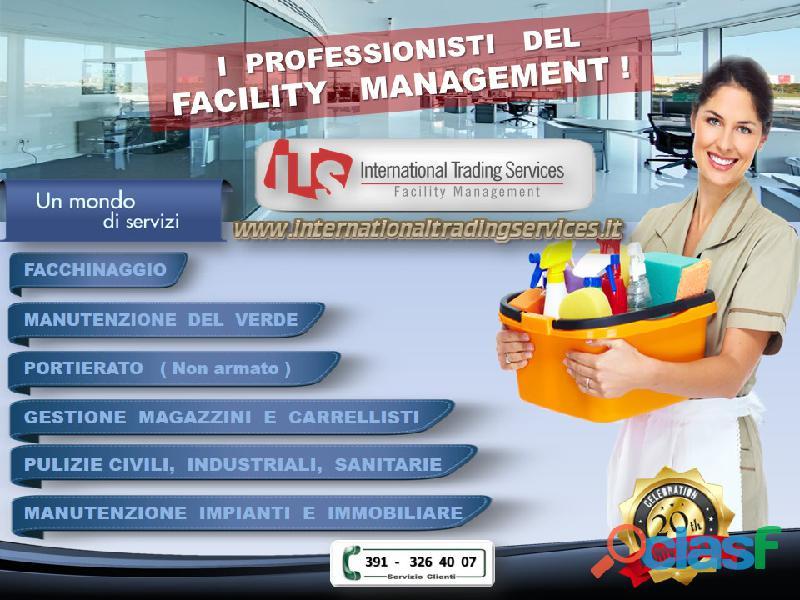 Cerchiamo partners professionali nel settore ...facility management !