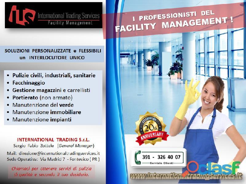 Pulizie industriali professionali