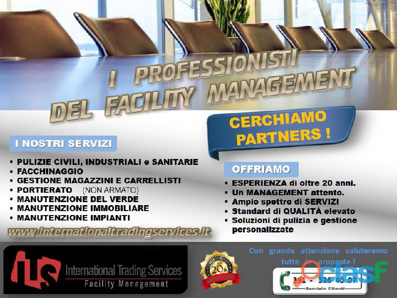 Tutta l'esperienza del facility management ..in un unico interlocutore !