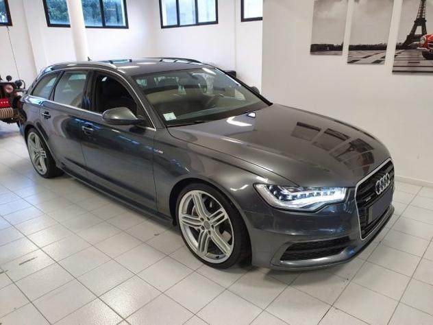 Audi a6 avant 3.0 tdi 313cv quattro tiptronic s-line led