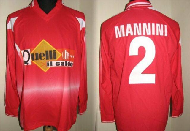 Maglia mannini sampdoria indossata quelli che... worn shirt