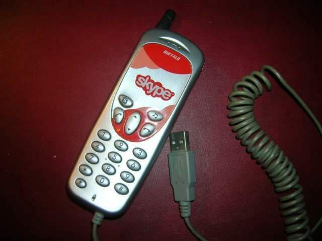 Telefono usb skype vintage