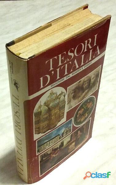 Tesori d'italia 3°edizione: selezione dal reader's digest,1979 ottime condizioni