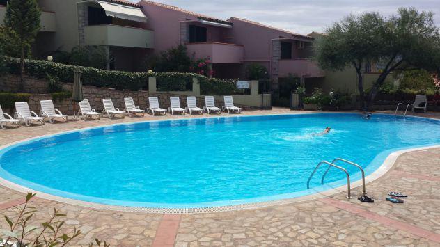 Affitto appartamento vista mare con piscina sardegna