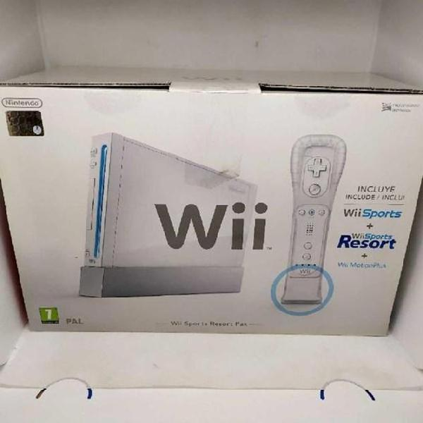 Consolle wii sport resort pack
