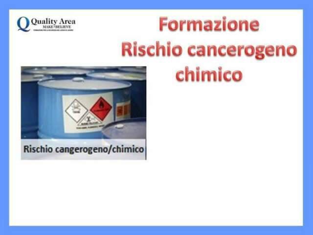 Corso rischio chimico e cancerogeno (sicurezza sul lavoro)