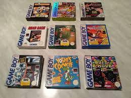Giochi game boy.c.e.r.c.o. boxati nintendo gameboy