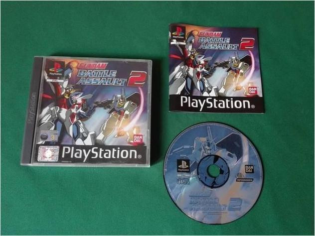 Gundam battle assault 2 playstation 1 2 3 ps1 ps2 gioco per
