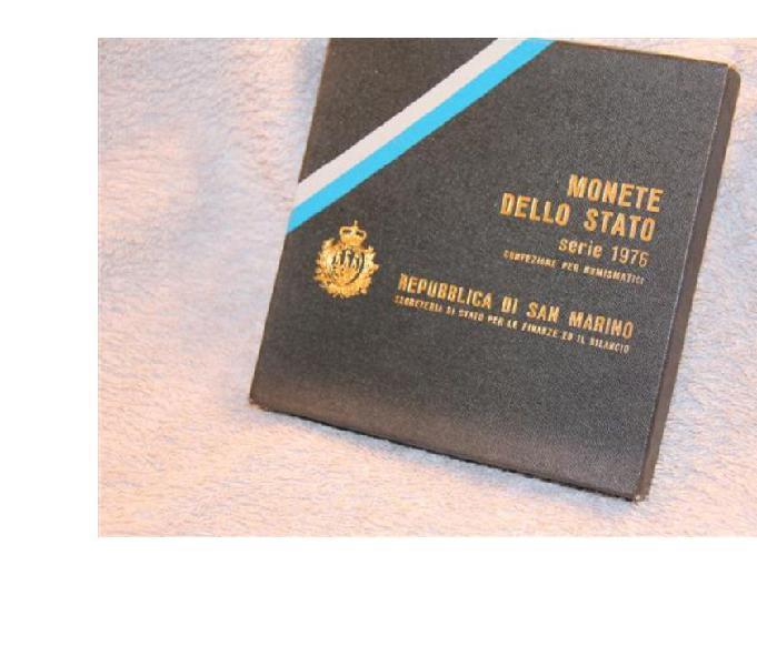 Monete 1976 repubblica san marino