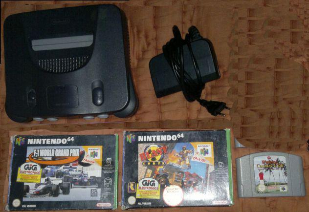 Videogames video giochi n64 nintendo 64