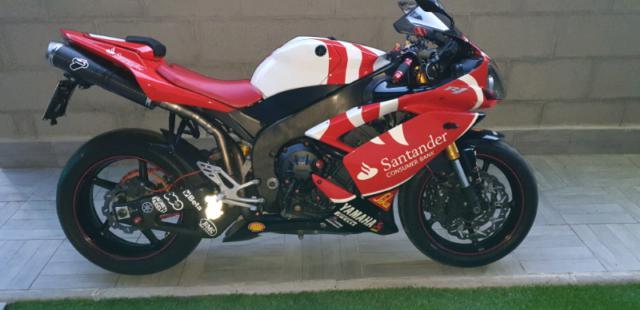 Yamaha yzf r1 10 th anniversary santander