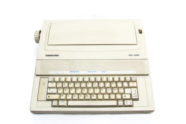 Samsung sq-1000 macchina da scrivere elettronica