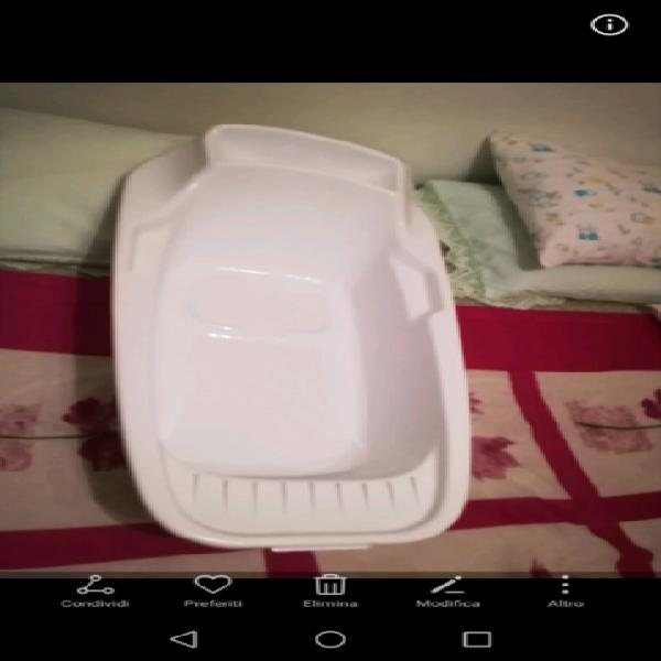 Vaschetta primi bagnetti