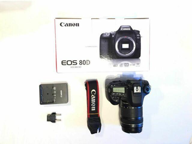Canon eos 80d + ef-s 18-135 f3.5-5.6