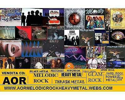 Cd metal hard rock aor rarita' per collezionisti e non